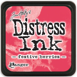 TINTA MINI DISTRESS INK FESTIVE BERRIES
