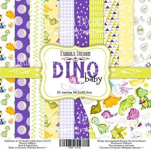 DINO BABY 8″x 8″