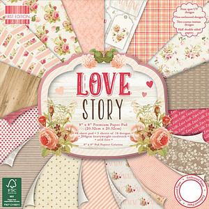 "LOVE STORY 8""x8"""