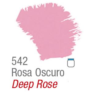 PINTURA ACRÍLICA FOSCA MATE ACRILEX 37ml ROSA OSCURO 542