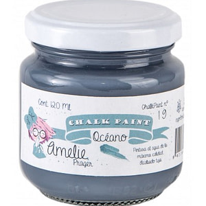 PINTURA CHALK PAINT AMELIE 19 OCÉANO 120ML