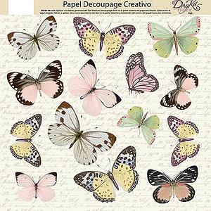 PAPEL DECOUPAGE DAYKA TRADE 0813426 MARIPOSAS