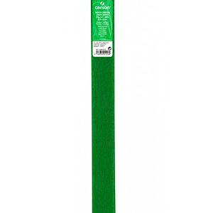 PAPEL CREPE 0,5×2,5m VERDE BILLAR 21