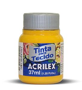 PINTURA TEXTIL ACRILEX 37ml AMARILLO CADMIO 536