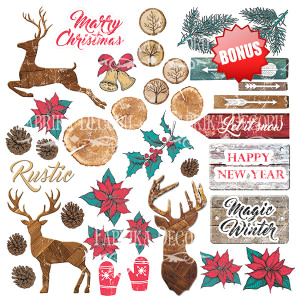 "SET PAPELES ""CHRISTMAS FAIRYTALES""– FABRIKA DECORU"