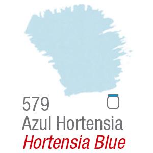 PINTURA ACRÍLICA FOSCA MATE ACRILEX 37ml AZUL HORTENSIA 579