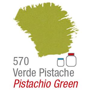 PINTURA ACRÍLICA FOSCA MATE ACRILEX 37ml VERDE PISTACHO 570