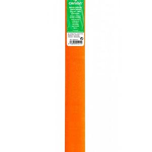 PAPEL CREPE 0,5×2,5m NARANJA ZINNIA 58