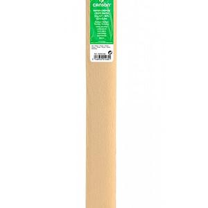 PAPEL CREPE 0,5×2,5m CREMA 02