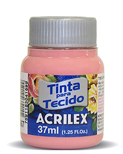 PINTURA TEXTIL ACRILEX 37ml ROSA TÉ 567