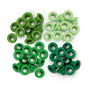 EYELETS We R VERDES 5MM 60UDS
