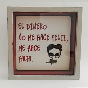 "HUCHA ""GROUCHO"" DECORADA"