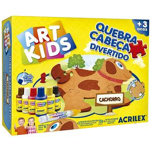 ART KIDS ROMPECABEZAS ACRILEX PERRITO
