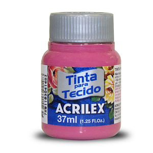 PINTURA TEXTIL ACRILEX 37ml ROSA OSCURO 542