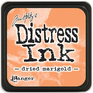 TINTA MINI DISTRESS INK DRIED MARIGOLD