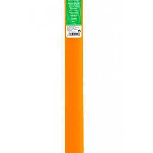 PAPEL CREPE 0,5×2,5m NARANJA CAPUCHINA 47