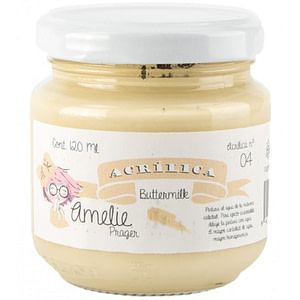 PINTURA ACRÍLICA AMELIE 04 BUTTERMILK 120ML