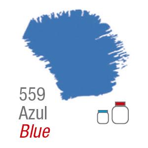 PINTURA ACRÍLICA FOSCA MATE ACRILEX 60ML. AZUL 559