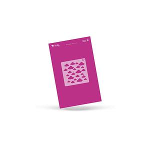 PLANTILLA STENCIL AMELIE NUBES AMP00064
