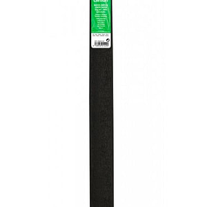 PAPEL CREPE 0,5×2,5m NEGRO 29