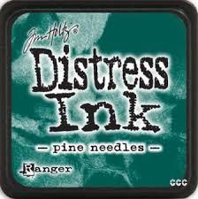 TINTA MINI DISTRESS INK PINE NEEDLES