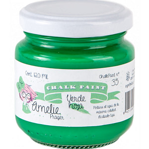 PINTURA CHALK PAINT AMELIE 35 VERDE HOJA 120ML