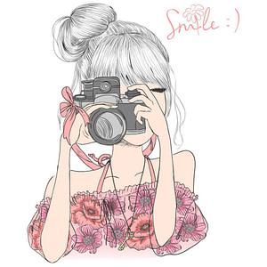 PAPEL SUBLIMACION ARTIS DECOR 30X30 GIRL SMILE
