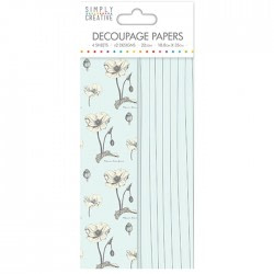 PAPEL DECOUPAGE SIMPLY CREATIVE SCDE042