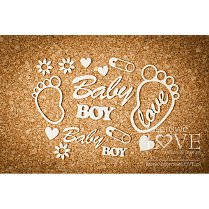 CHIPBOARD – FEET BOY – EMMA & BILLY