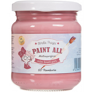 PINTURA PAINT ALL MULTISUPERFICIE AMELIE 08 FRAMBUESA 180ML