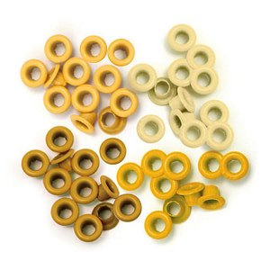 EYELETS We R AMARILLO 5MM 60UDS