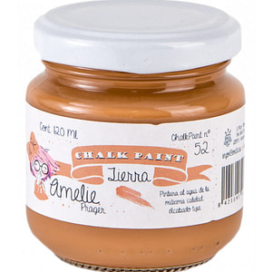 PINTURA CHALK PAINT AMELIE 52 TIERRA 120ML