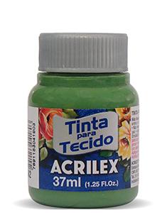 PINTURA TEXTIL ACRILEX 37ml VERDE GRAMA 582