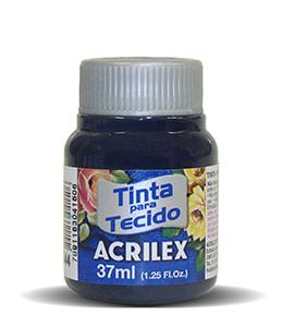 PINTURA TEXTIL ACRILEX 37ml AZUL MARINO 544