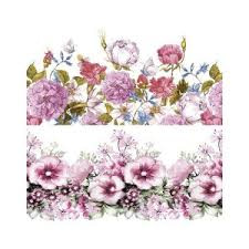 PAPEL SUBLIMACION ARTIS DECOR 30X30 FLORES CENEFAS