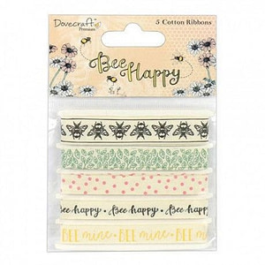 CINTAS DECORATIVAS DOVECRAFT BEE HAPPY