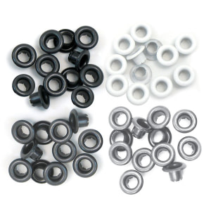 EYELETS We R GRIS 5MM 60UDS