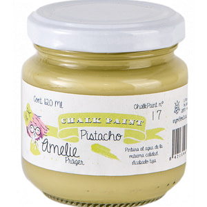 PINTURA CHALK PAINT AMELIE 17 PISTACHO 120ML