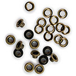 EYELETS & ARANDELAS We R COBRE 5MM 30 UDS