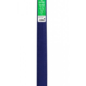 PAPEL CREPE 0,5×2,5m AZUL ULTRAMAR 13