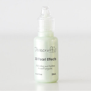 PINTURA 3D DOVECRAFTS PEARL EFFECTS PASTEL GREEN