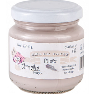 PINTURA CHALK PAINT AMELIE 08 PÉTALO 120ML