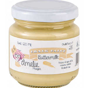 PINTURA CHALK PAINT AMELIE 28 BUTTERMILK 120ML