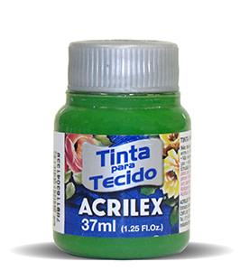 PINTURA TEXTIL ACRILEX 37ml VERDE MUSGO 513
