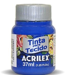 PINTURA TEXTIL ACRILEX 37ml AZUL ULTRAMAR 543