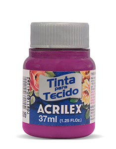PINTURA TEXTIL ACRILEX 37ml MAGENTA 549