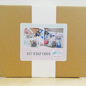 KIT ÁLBUM SCRAP STEAM TIME